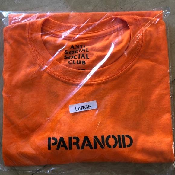 dd9fc8c2 Anti Social Social Club Other - Anti Social Social Club x Undefeated  Paranoid Tee